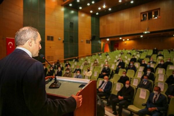 Bayburt'ta Afet Risk Azaltma Planı Bilgilendirme Toplantısı
