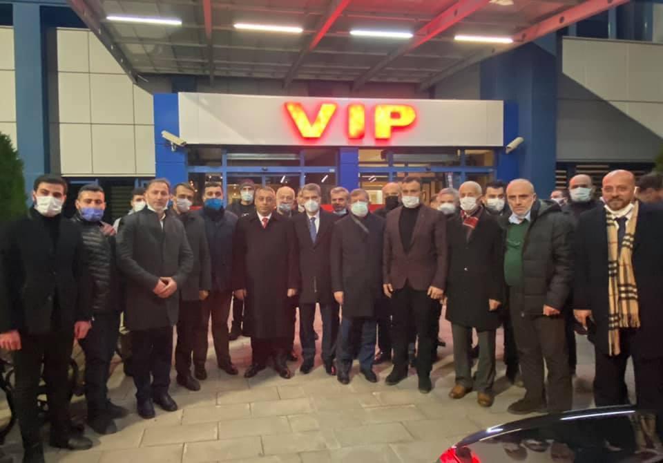 AK Parti heyet Trabzon'a döndü