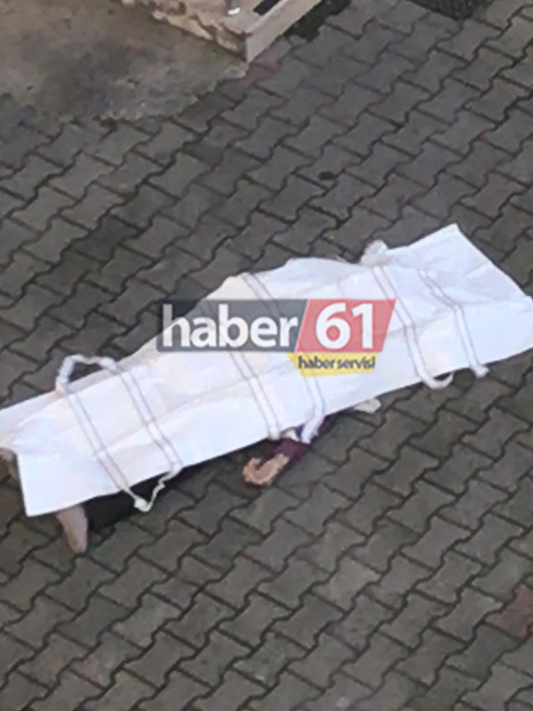 Trabzon'da şok! 7. kattan düşerek öldü