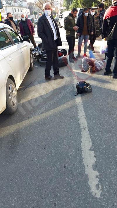 Trabzon'da kaza: 1 kişi yaralı!