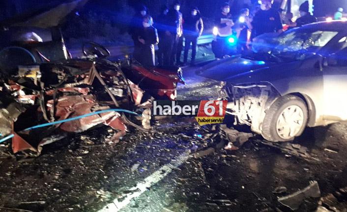 Trabzon Maçka'da feci kaza, ölü ve yaralılar var!