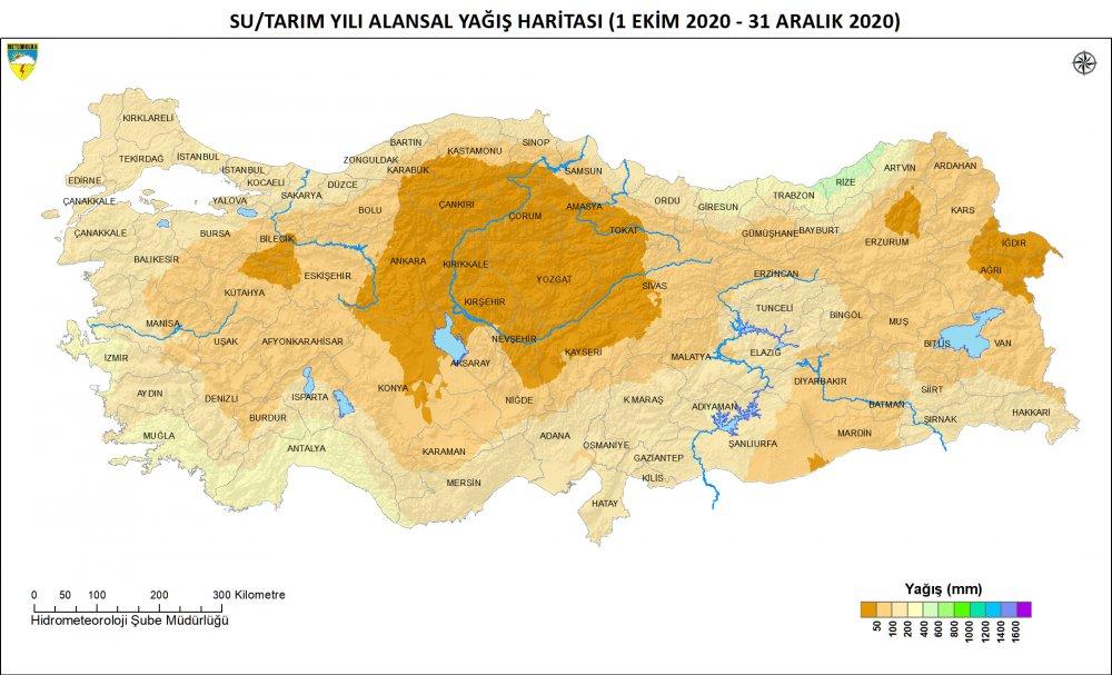2020'de ekstrem sıcaklıkta artış, yağışlarda düşüş rekoru! Trabzon hariç...