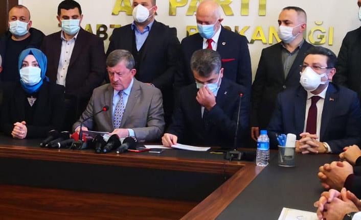 AK Parti Trabzon'da Mumcu görevi devraldı