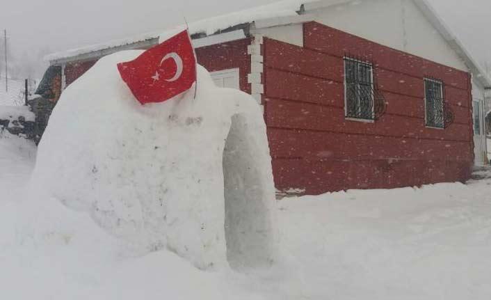 Artvin'de bir eskimo evi!