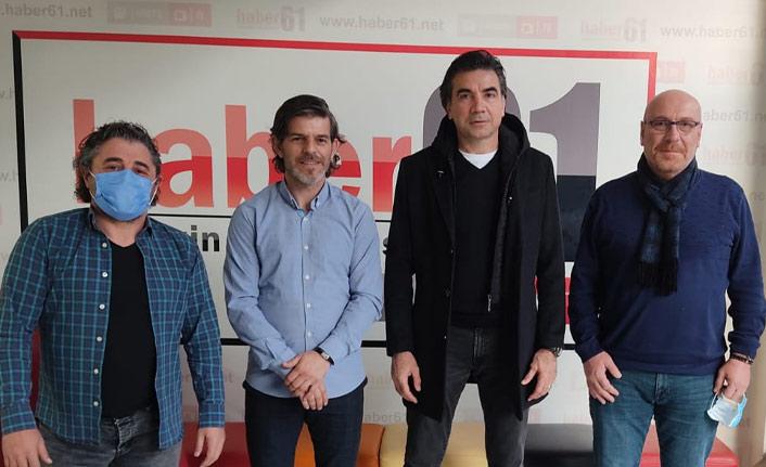 Osman Özköylü'den Haber61'e ziyaret