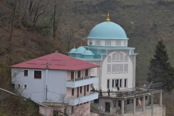 Trabzon'daki cami bölgede ilk olacak