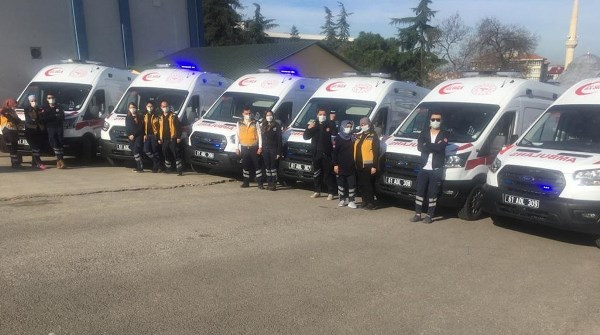 Trabzon'a 6 yeni ambulans