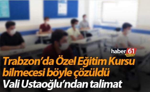 Trabzon İl Hıfzıssıhha Kurulu olağanüstü toplandı! Yüz yüze eğitim kararı
