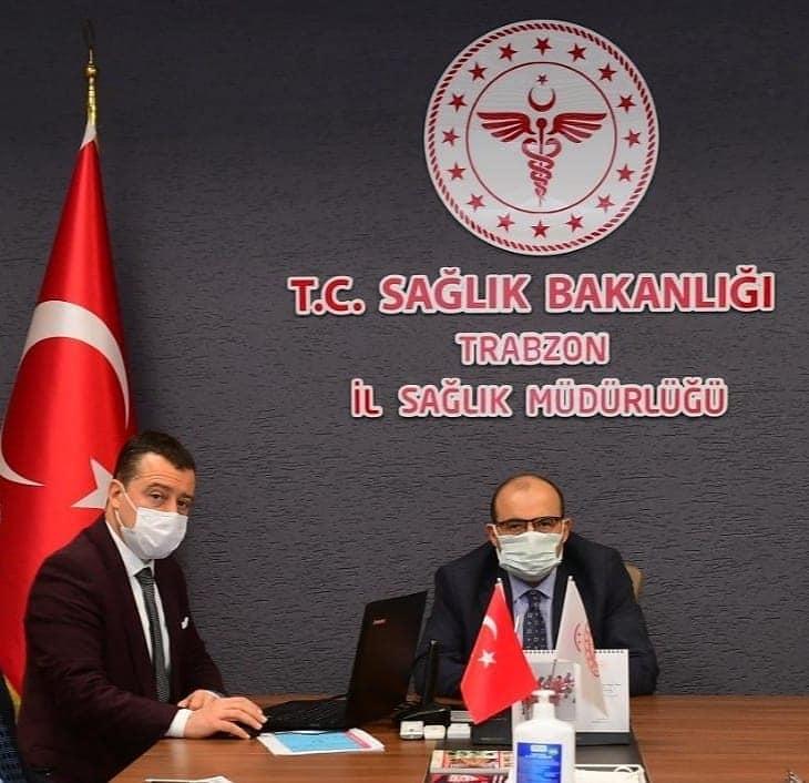 Trabzon'da artan vakaların ardından koronavirüs toplantısı!
