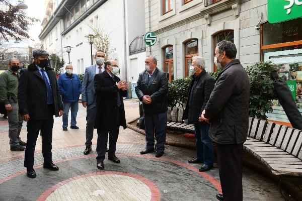 Trabzon Valisi Ustaoğlu Koronavirüs denetiminde