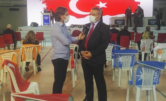 """Selahaddin Çebi Haber61'e konuştu: """"Bu sadece bir siyasi partinin kongresi değil"""""""