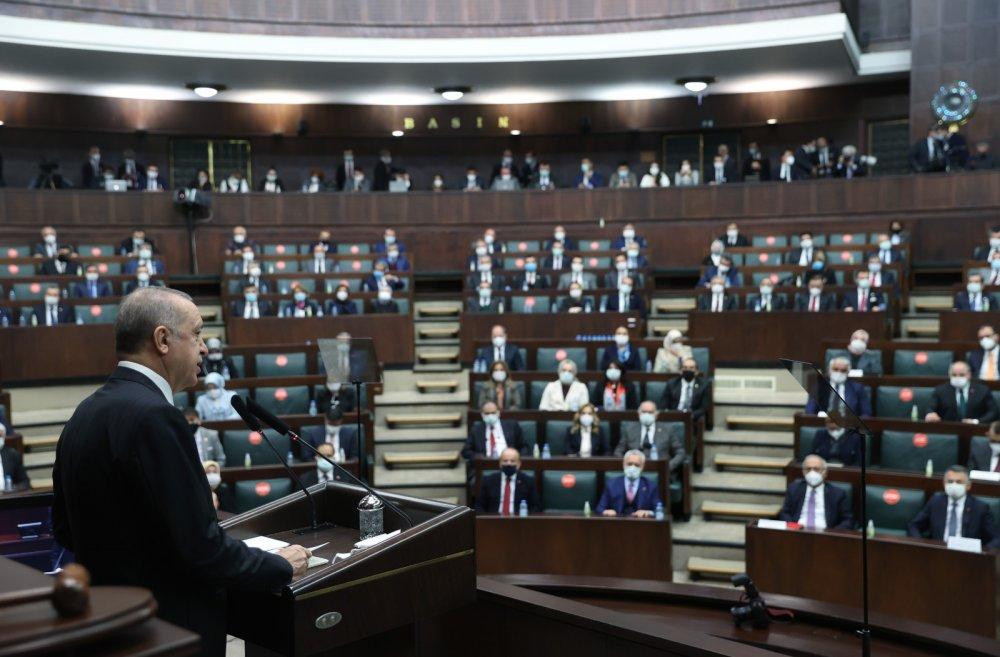 """Cumhurbaşkanı Erdoğan'dan çağrı! """"2023'te sivil anayasa"""""""