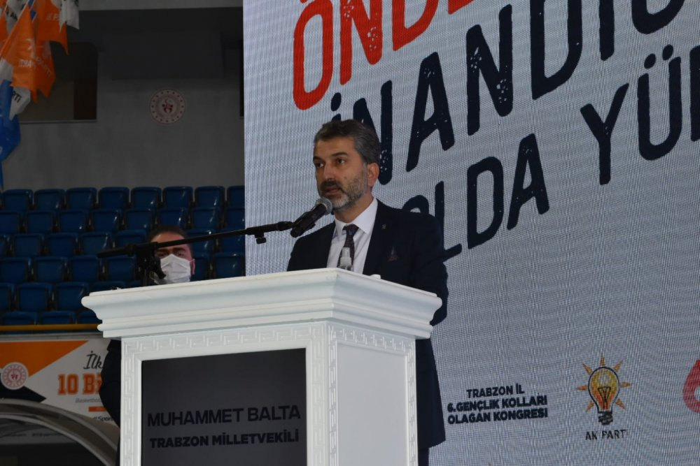 AK Parti Trabzon gençlik kollarında kongre heyecanı! Sefa Küçükali yeniden başkan