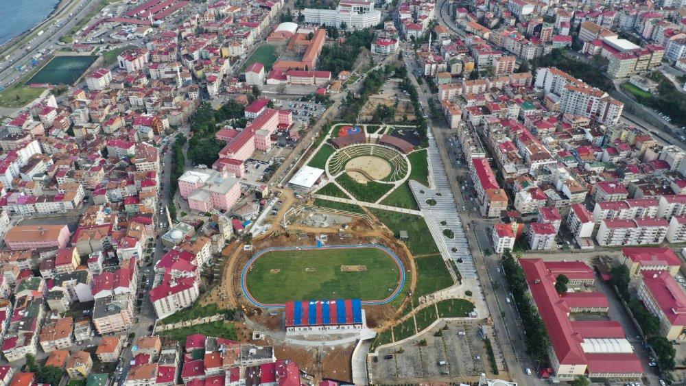 Trabzon'da millet bahçesinde sona doğru