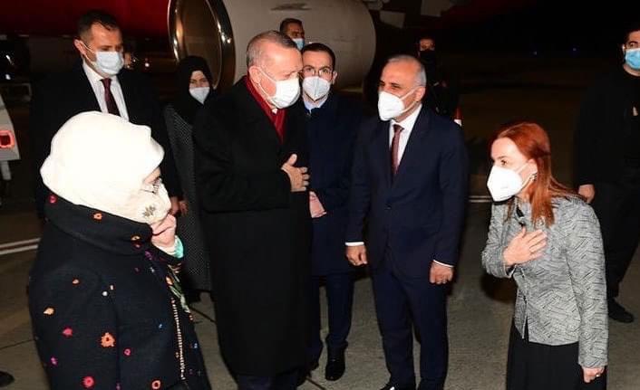 Cumhurbaşkanı Erdoğan memleketinde