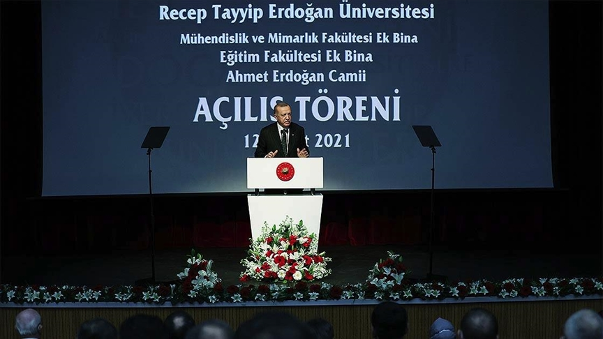 """Cumhurbaşkanı Erdoğan: """"Üniversitelerimiz için ayırdığımız payı 36 milyar liraya yükselttik"""""""