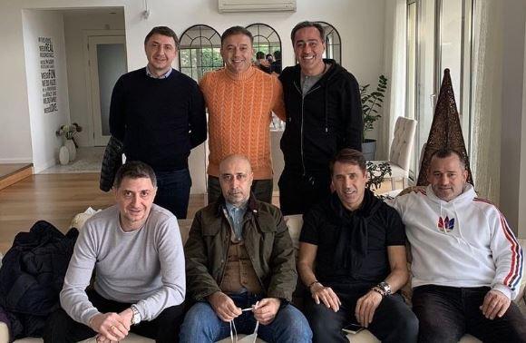 Trabzonspor'un eski futbolcuları hasret giderdi