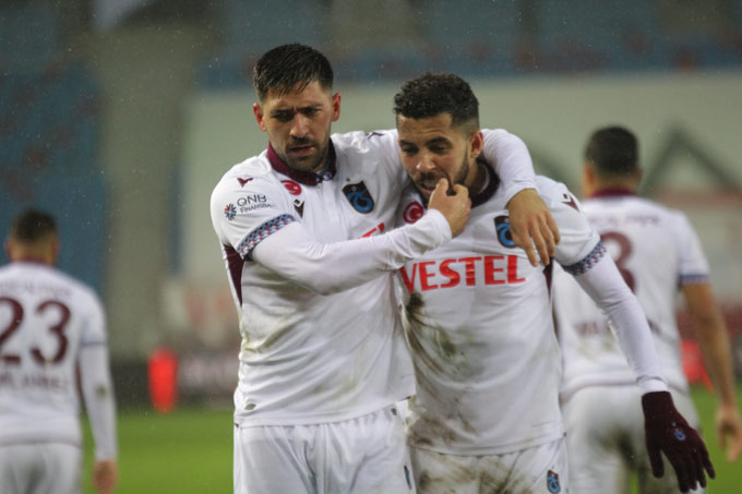 Trabzonspor'da Flavio fark yarattı