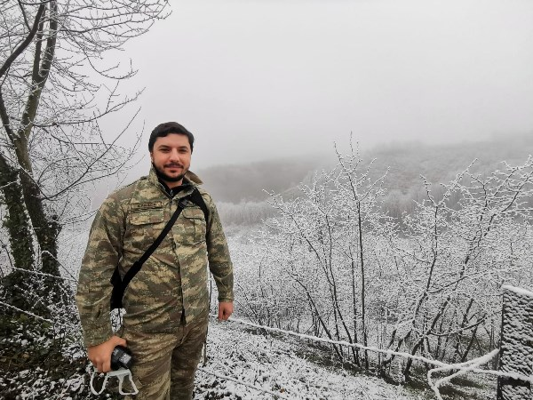 Ordu'da beklenen kar etkili oldu