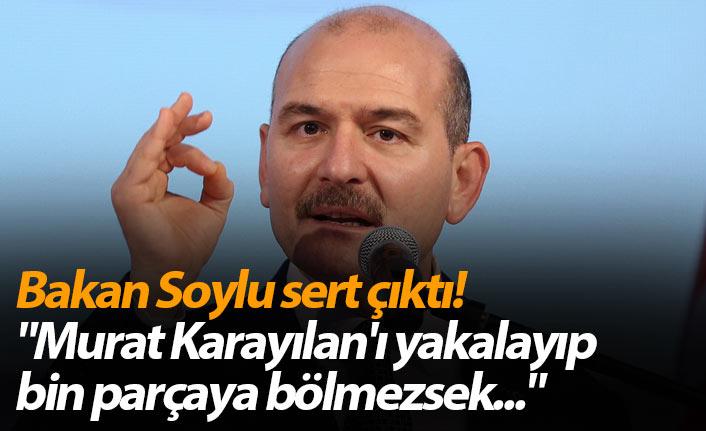 Trabzon Emniyeti Bakan Soylu'ya tam destek