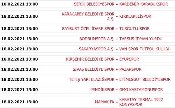 Süper Lig puan durumu, Süper Lig 25. Hafta maç sonuçları ve 26. Hafta maçları