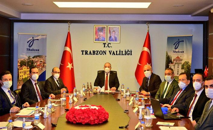 Bakan Varank'tan Trabzon'da ziyaret ve inceleme