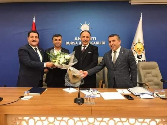 Bursa'da AK Parti teşkilatına Trabzonlu isim
