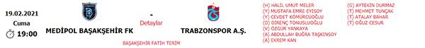 Başakşehir Trabzonspor maçının VAR hakemi belli oldu