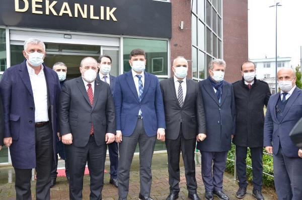 Bakan Varank'tan Of Teknoloji Fakültesi'ne ziyaret