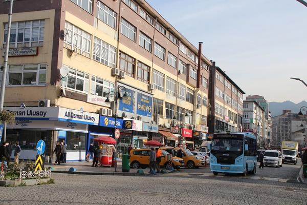 Rize'de kentsel dönüşüm başladı, kiralar ikiye katlandı