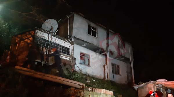 Trabzon'da yangın! 2 kişi hayatını kaybetti