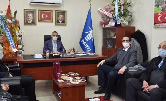 CHP'den Ak Parti'ye ziyaret