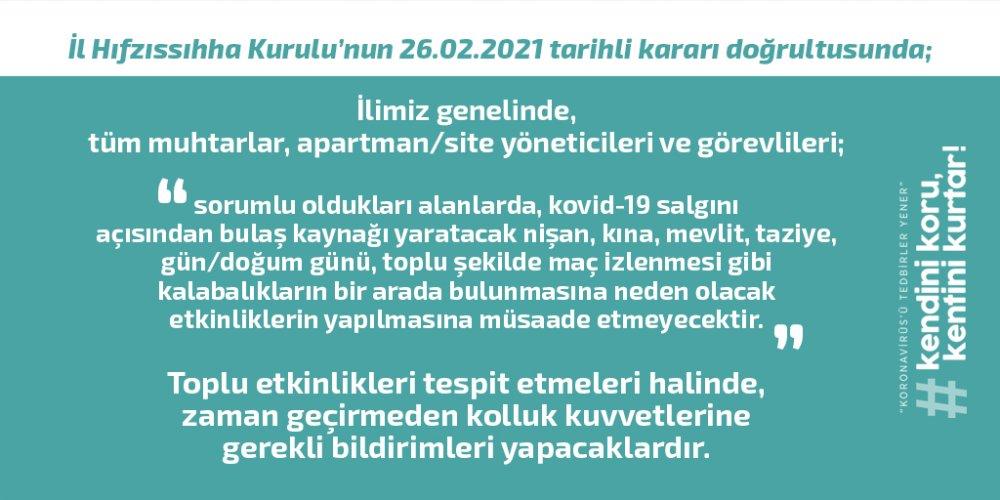 Trabzon İl Hıfzıssıhha Kurulu açıkladı! Hepsi yasaklandı!