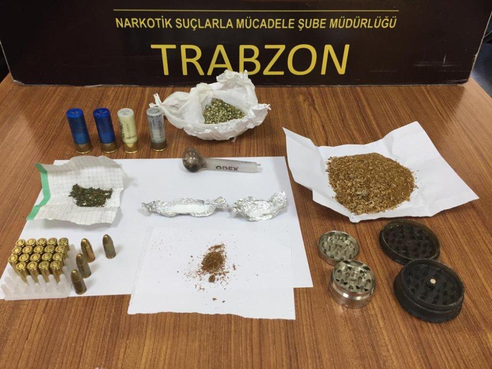 Trabzon'da 16 ekip 1 personelle operasyon! Peynirin içine uyuşturucu enjekte ettiler