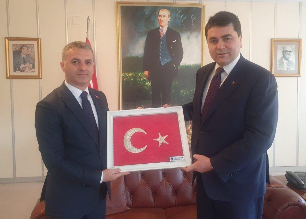 Mustafa Bıyık Akşener ve Uysal'ı ziyaret etti