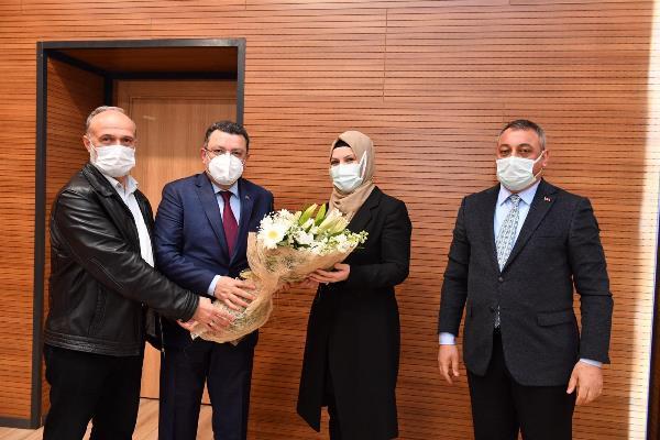 Başkan Genç, AK Parti Ortahisar teşkilatıyla buluştu