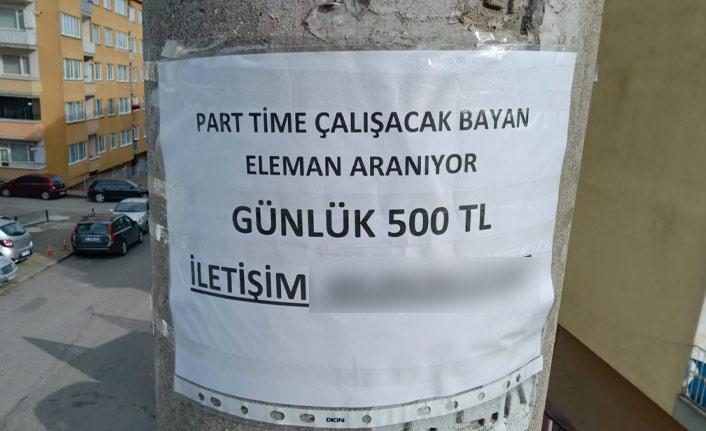 Trabzon'u karıştıran ilan