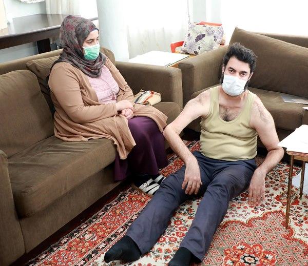 Rize'de tanı konulamayan hastalıkla 5 yıldır mücadele ediyor