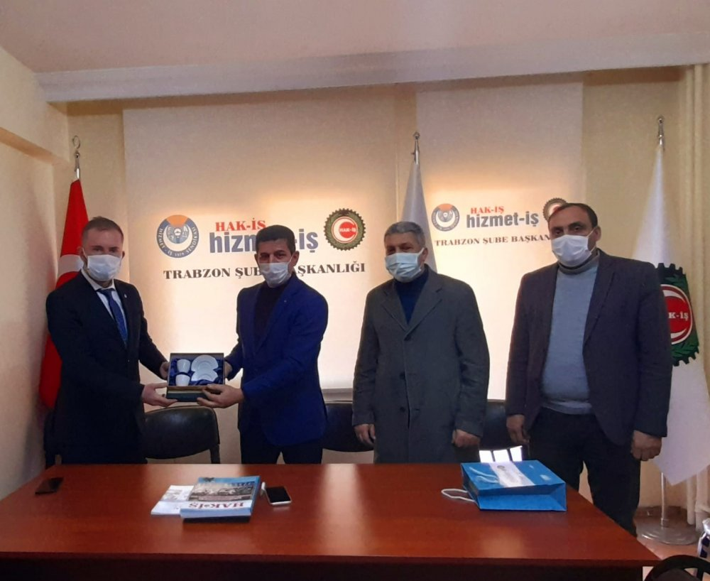Deva Partisi Trabzon Yönetimi sahaya indi