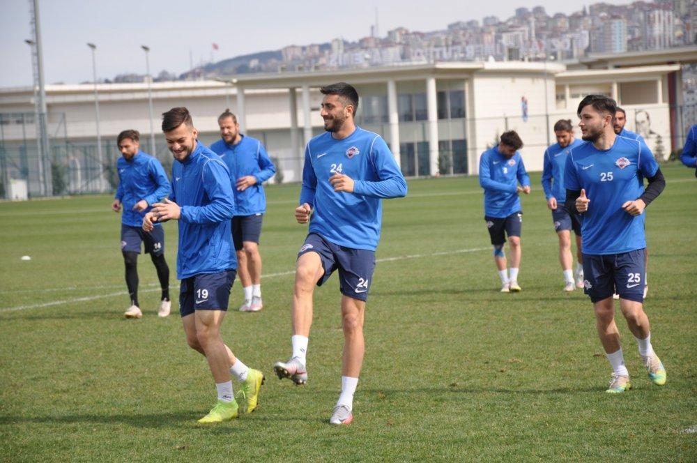 Hekimoğlu Trabzon Hacettepe'ye hazırlanıyor