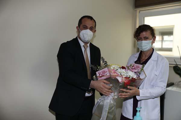 Başkan Ekim'den Sağlık Çalışanlarına Sürpriz