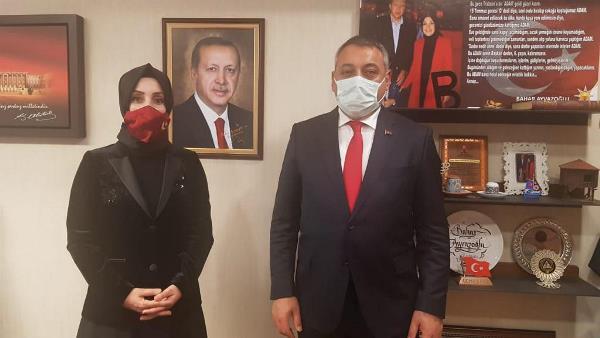 Selahaddin Çebi Ankara ziyaretinden çantası dolu döndü