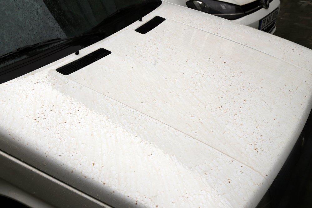 Gümüşhane'ye çamur yağdı