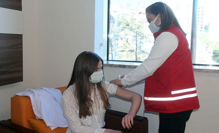 Komşu il Giresun'da 123 bin dozun üzerinde aşı yapıldı