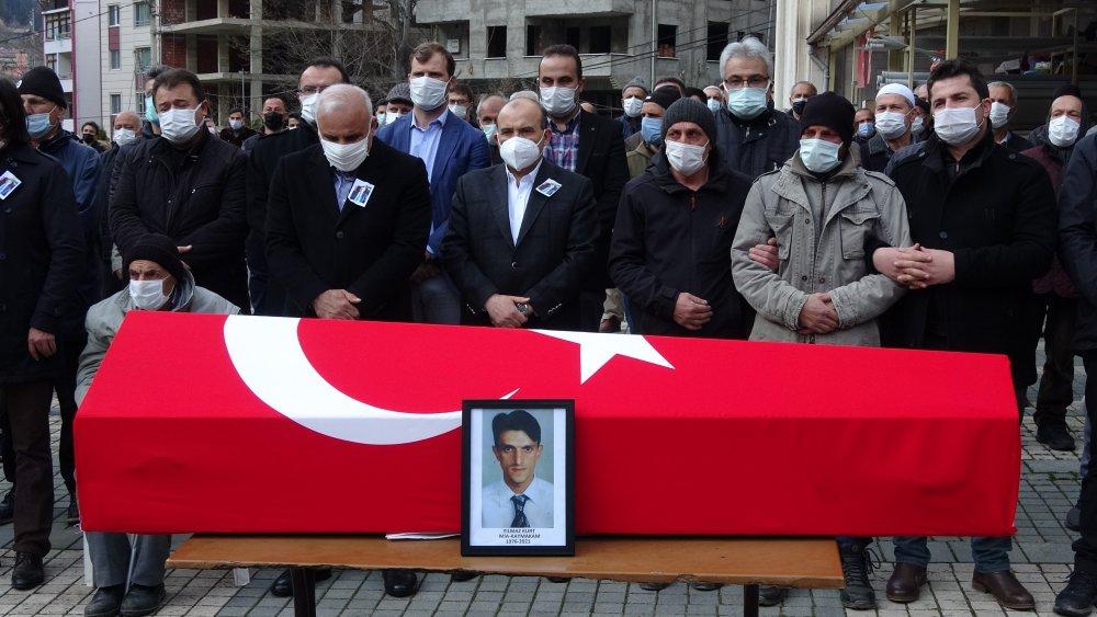 Trabzonlu Kaymakam son yolculuğuna uğurlandı