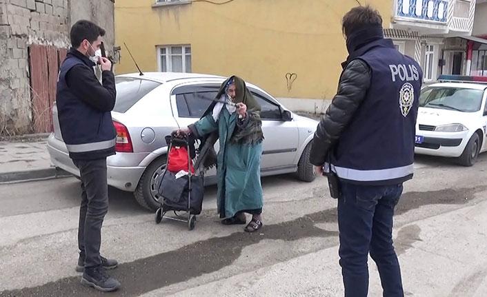 Kovid-19 testi pozitif çıktı, karantinaya girmemek için polise direndi!