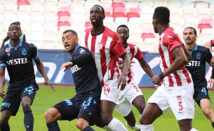 Trabzonspor Sivas'tan 1 puanla dönüyor