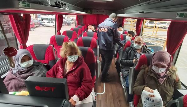 Artvin'de şehirlerarası otobüslerde yolculara AFAD videosu izletiliyor