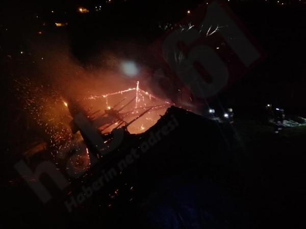 Trabzon'da ev yangınında acı haber! Yangından değil kalp krizinden öldü