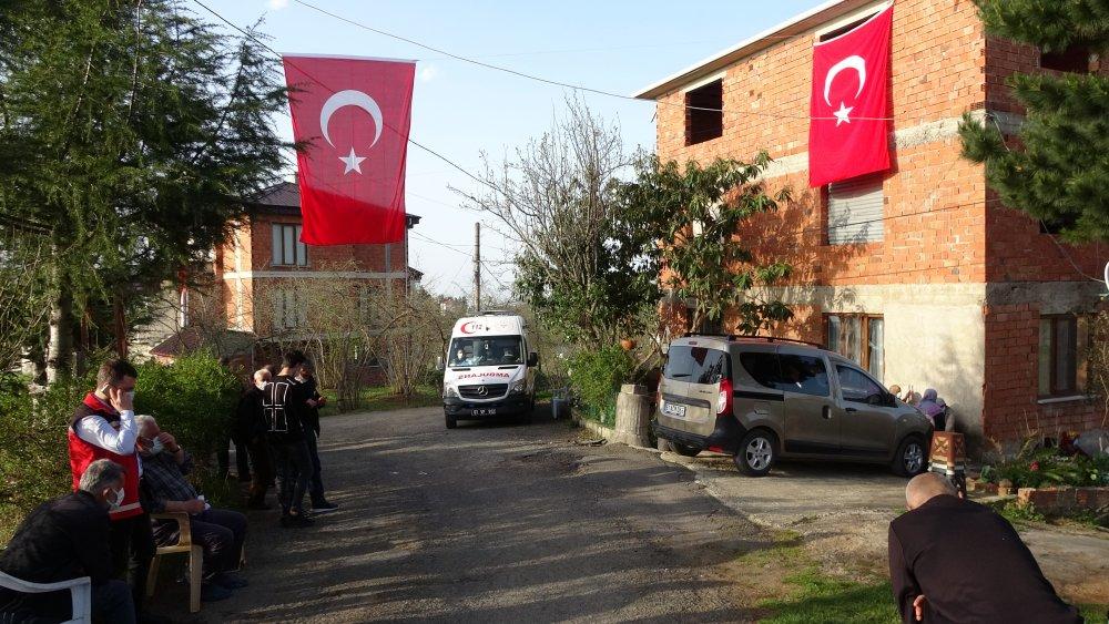 Trabzonlu Şehidin babaocağında hüzün